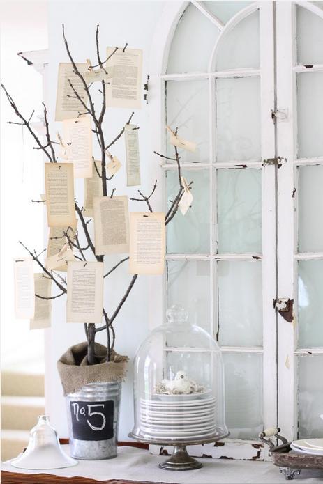 small tree decorations notes kick-knacks